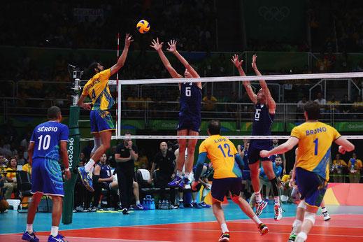 Un bon régime pour la pratique du volley