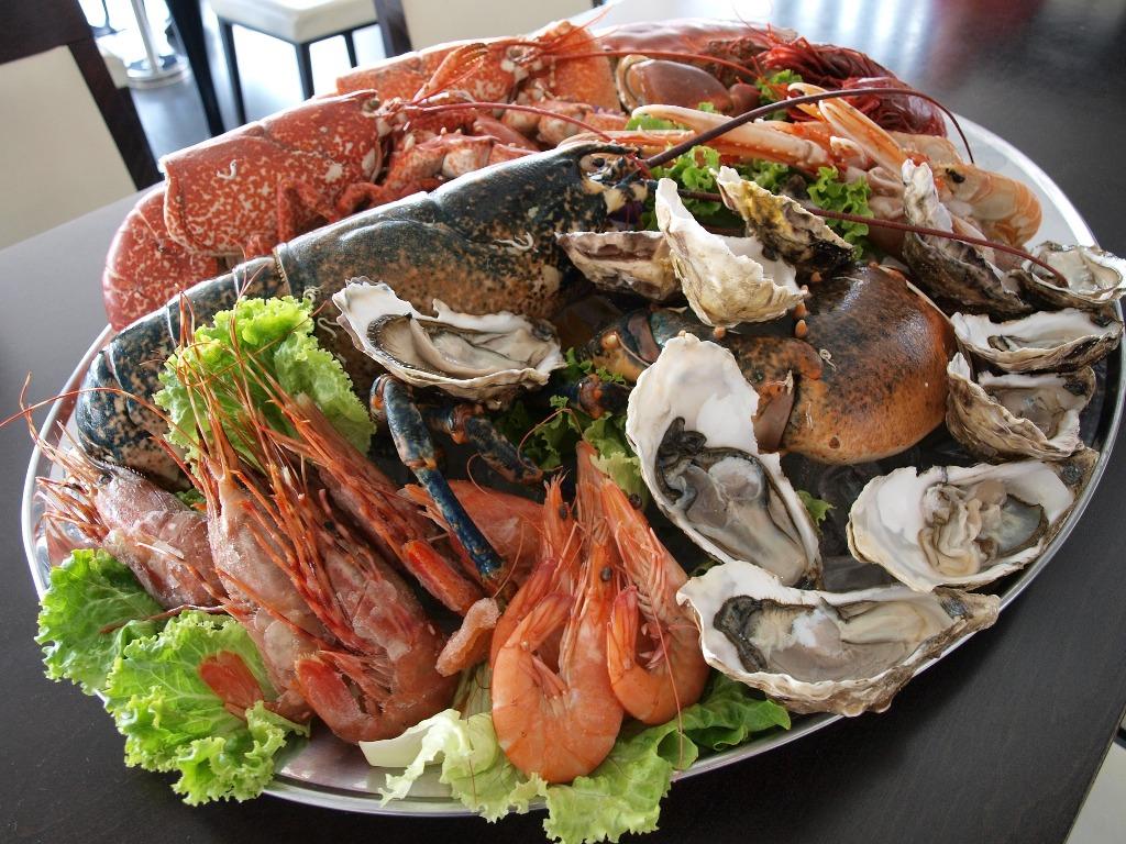 Les plats de fruits de mer, véritables régales